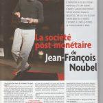 La société post-monétaire de Jean-François Noubel