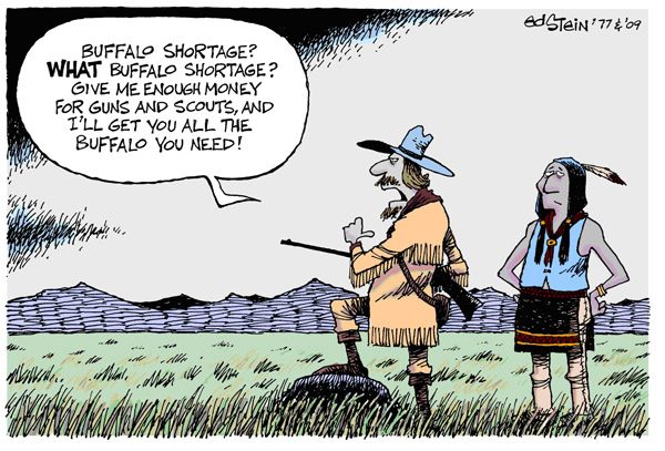 Buffalo shortage