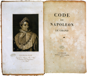 Napoleonic code - Code Napoléon