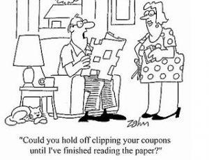 Coupons cartoon