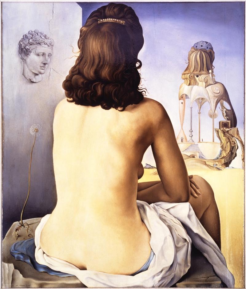 Dali - Ma femme nue