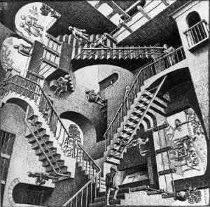 Escher - Relativity
