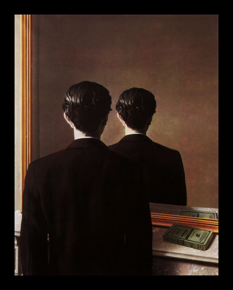 Magritte - Miroir