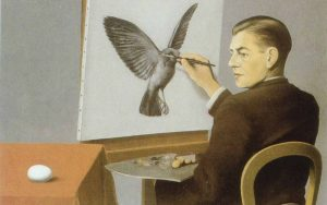 Magritte - La clairvoyance