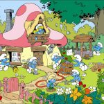 Village schtroumpf - Smurf village