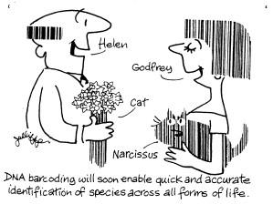 Social barcoding