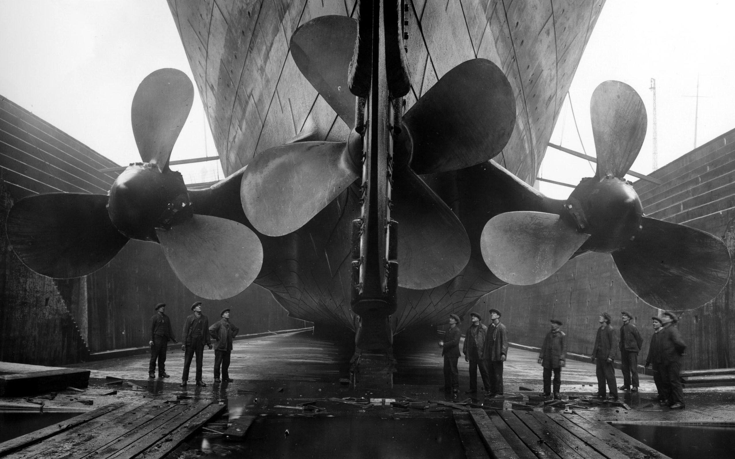 Hélices du Titanic
